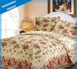 100%Cotton Print Bedding Bed Cover (Quilt) pictures & photos