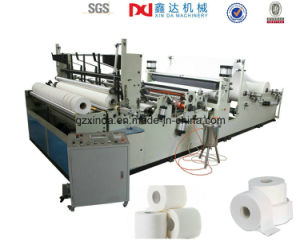 Full Automatic Cutter Toilet Paper Maxi Roll Machine Equipment pictures & photos