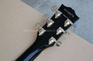 Hanhai Music / Es-335 Semi-Hollow Electric Guitar with Gold Harware pictures & photos