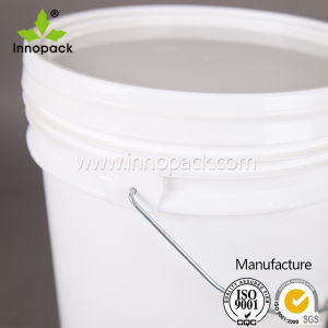 Food Grade PP 5 Gallon Plastic Pail Plastic Bucket with Handle and Lid pictures & photos