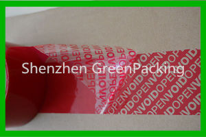 High Quality Tamper Evident Security Void Tape pictures & photos