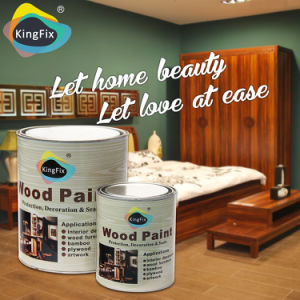 Free Samples Kingfix Nitro Wood Paint pictures & photos