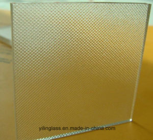 6mm 8mm 10mm Tempered Figured Glass pictures & photos