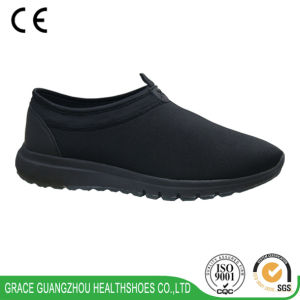 Grace Health Shoes Men′s Stretchable Fabric Sport Shoes pictures & photos