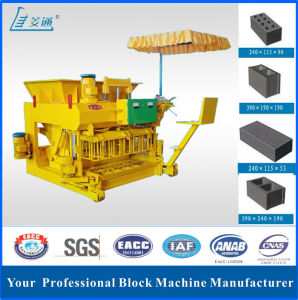 New Design Hydraulic Movable Egg Layer Concrete Block Making Machine (JMQ-6A)