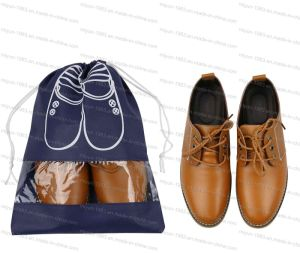 Non-Woven Shoes Bag Portable Traveling Shoe Storage Bag M. Y. D-042 pictures & photos