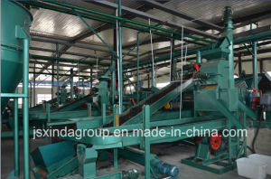 Tire Recycling Plant Whole Scrap Automatic Tyre Recycling Line pictures & photos