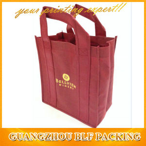 Wine Non Woven Recyclable Shopping Bags (BLF-NW249) pictures & photos