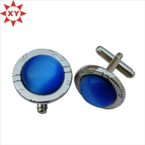 Custom Design 18mm Metal Copper Round Cufflinks pictures & photos