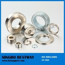 Nickel Plated Permanent NdFeB Ring Magnet pictures & photos