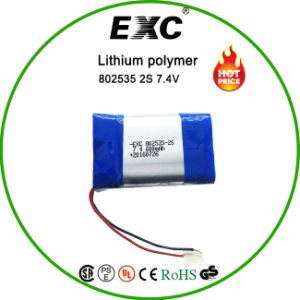 Exc802535 Lithium Polymer Battery Pack pictures & photos