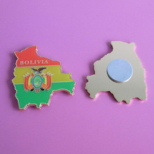 Custom Magnetic Trading Metal Enamel Badge pictures & photos