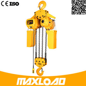 10 Ton Electric Chain Hoist with Hook Fixed Type (HHBB10-04SF) pictures & photos
