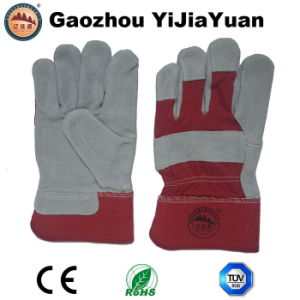 Cowhide Protective Work Gloves with Ce pictures & photos