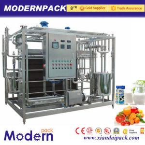 High Quality Full Automatic Flavored Juice/Milk/Yogurt Uht Plate Sterilizer Machine pictures & photos