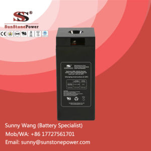 Deep Cycle 2V 300ah Solar Power Supply Gel Cell Battery pictures & photos