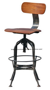 Industrial Metal Restaurant Dining Furniture Swivel Toledo Bar Stools Chair pictures & photos