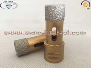 3.2mm Wall Dry Drill Bit for Ceramic Diamond Drill Bit pictures & photos