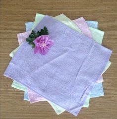 Wholesale White Disposable Small Cotton Hand Towels for Hotel pictures & photos