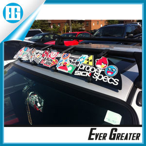 Four Color Waterproof PVC Stickers Car Roof Decal OEM pictures & photos