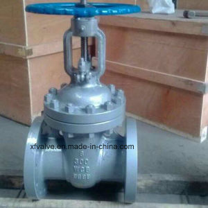 ANSI 300lb Carbon Steel Wcb Flange Connection End Gate Valve