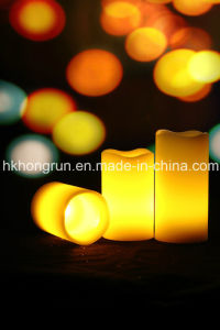 Flameless LED Candle with Remote (HR3123Y)