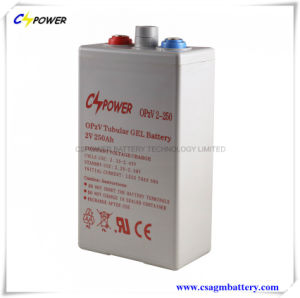 China Opzv Battery 2V250ah Top Quality 3years Warranty Opzv2-250 pictures & photos