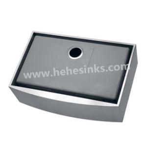 Farmhouse Sink, Apron Sink, Handmade Sink, Kitchen Sink, Stainless Steel Sink (HMAS3322) pictures & photos
