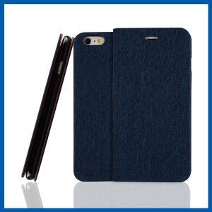 Flip Leather Case Credit Card Holders for iPhone 6s Plus pictures & photos