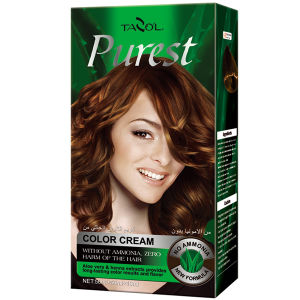 Purest Free Ammonia House Use Hair Color Cream Light Brwon pictures & photos