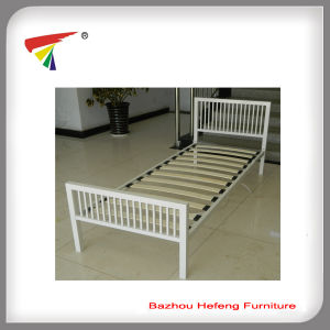 School Furniture Metal Single Bed (HF072) pictures & photos