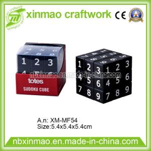 5.4cm Sudo Puzzle Cube with PVC Case pictures & photos