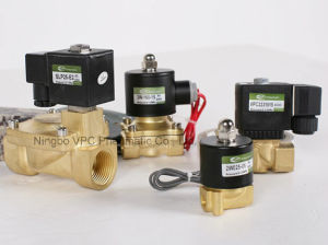 """Air Ride Suspension Valve 1/2"""" NPT Electric Solenoid Brass for Train Horn Fast pictures & photos"""