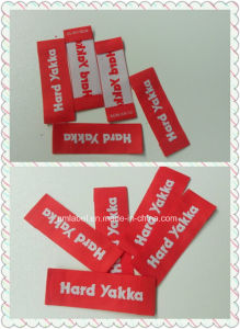 High Quality Red Woven Label (AMWL20140067)