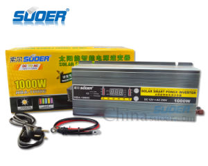 Suoer 1000W DC 12V to AC 220V Solar Power Inverter with Battery Charger (HBA-1000C) pictures & photos
