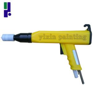 Kci Yellow Electrostatic Powder Coating Spray Gun pictures & photos