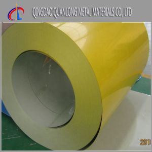 Color Coated Prepainted Steel Coil with PVC Filmed pictures & photos