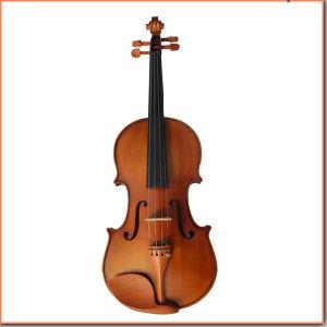 Matt Varnish Handmade Advanced Violin pictures & photos