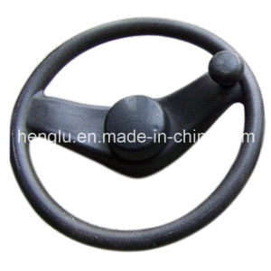 313mm Dia Plastic Forklift Steering Wheel pictures & photos