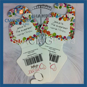 Adhesive Necklace Display Card with Adhesive (CMG-053) pictures & photos