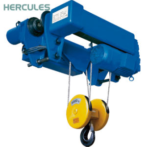 JIS Wire Rope Electric Hoist 20t for Factory pictures & photos