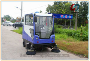 Electric Sweeper, Road Sweeper, Factory Floor Sweeper pictures & photos