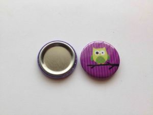 Purple Owl Color Badge pictures & photos