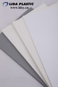 PVC Rigid Sheet with PE Film pictures & photos