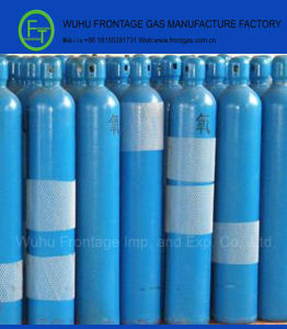 Gas Cylinder Oxygen with ISO 9809 Certificate pictures & photos