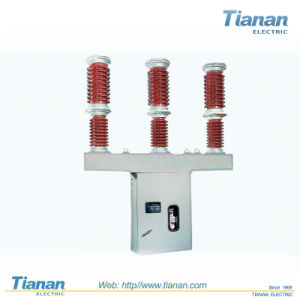 Double Columns, Horizontally Rotary 220kv Hv AC Disconnector Switch pictures & photos