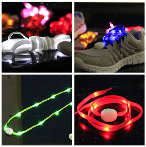 Nylon Night Walking Flashing LED Shoelace pictures & photos