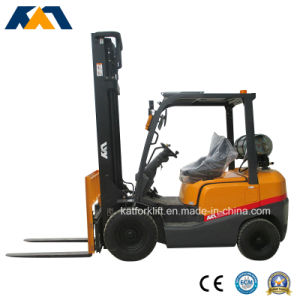3ton Gasoline Forklift Truck with Nissan K21 Engine pictures & photos
