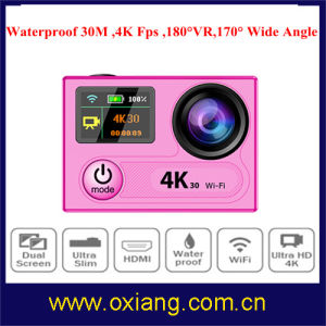 360 Degree Vr 4k 30 Fps 16m WiFi Sport Camera pictures & photos