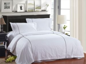 White Stripes Bed Linen for Hospital&Hotel pictures & photos